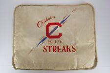 Vintage Chisholm MN Blue Streaks Stadium Seat Cushion High School