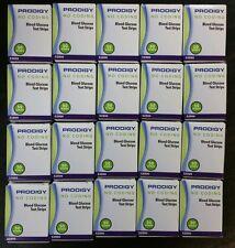 1 Case (20 boxes) Prodigy (52800) No Code Diabetes Blood Glucose Testing Strips