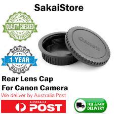 Canon Rear Lens cap + Camera body cap Cover  DSLR  SLR EOS EFEF-S Series Camera