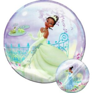 """Qualatex Bubble Balloon 22"""" (56cm) The Princess and the Frog Double Sided"""