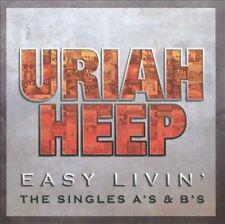 Easy Livin' / Uriah Heep (Singles A's & B's) Greatest Hits (2CD 2006) NEW/SEALED