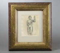 Pablo Picasso Drawing Modernist French Nude Spanish Portrait Self gay boy man