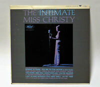 1963 JUNE CHRISTY The Intimate Miss Christy Capitol T 1953 Mono LP FREE SHIPPING