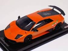 1/18 MR Collection Lamborghini Murcielago 670 SV Orange with Italian SV Carbon