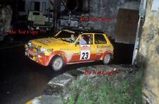 Jean Ragnotti Renault 5 Alpine San Remo Rally 1977 Photograph 1