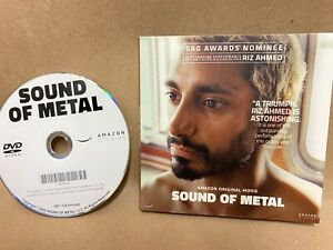 SOUND OF METAL, FOR YOUR CONSIDERATION DVD MOVIE SCREENER