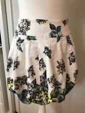 Karen Millen Womens White Mini Skirt Size 8
