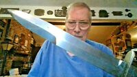 VIETNAM WAR M3 TYPE KNIFE PX BASE EXCHANGE PRIVATE PURCHASE W/ US M8A1 SCABBARD