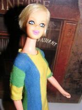 FAB! Vtg 1967 PLATINUM Blonde TWIGGY TNT Twist N Turn Francie Barbie Casey Japan