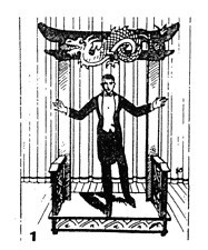 Mephistos Portal Großillusion I Bauplan | Zaubertrick I Astor