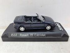 Solido 1533 Renault 19 Cabriolet. 1:43