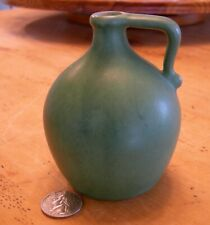 Vintage PIGEON FORGE ART POTTERY Small Matte Green Jug 1971