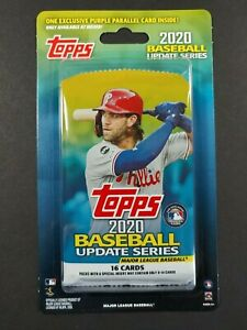 2020 Topps Update BLISTER   Pack with Purple Parallels  Meijer Exclusive new.