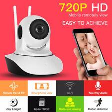 Wireless 720P Pan Tilt Network Home CCTV IP Camera IR Night Vision WiFi Webcam