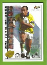 2001SELECT NRL IMPACT SERIES-TEAM OF THE YEAR-TY6-JASON CROKER-RAIDERS