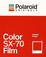 Polaroid Originals SX70 Instant Colour Film - NEW VERSION