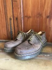 Vintage Men's Doc Martin Shoes Boots Size 12 Punk Metal Grunge Movie Retired
