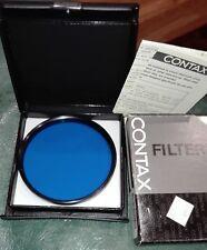 CONTAX FILTER FILTRO BLU B10 (80B) MC DIAMETRO 82 mm NUOVO PERFETTO BOX SCATOLA-