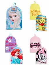 Girls NEW Wash Mitt / Flace Cloth Disney Minnie Mouse Frozen Winnie the Pooh
