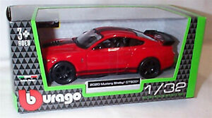 2020 Mustang Shelby GT500 in Red 1:32 Scale Diecast  burago New in Box