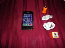 Apple iPhone 3GS-32GB Black {ATT}  jail broken & unlocked bundle #5 star wars sd