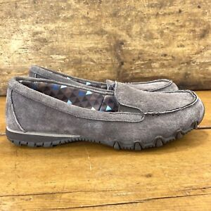 Skechers Womens Relaxed Fit Bikers-Penny Lane Loafers Size 6.5 Chocolate Brown