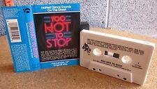 TOO HOT TO STOP cassette tape Teena Marie 1985 Rene & Angela ANIMOTION Mai Tai