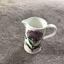 "More details for 7"" portmeirion botanic garden jug dianthus barbatus sweet william"