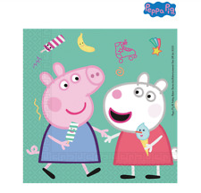 Peppa Pig 2-ply Party Napkins - Pack of 20