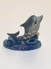 Enesco Jim Shore Heartwood Creek Mini Dolphin Figurine 3.25IN