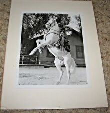 THE LONE RANGER & SILVER ~ CLAYTON MOORE ~ Glossy 8x10 Photo Print 1933