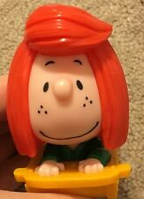 Peppermint Patty On Sled Peanuts Movie Mcdonalds Happy Meal Toy