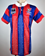 NEWCASTLE KNIGHTS VINTAGE Tribute to Players Jersey 1988-2011 ladies size 14