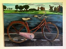 "Art. Pseellberg «Asielbike"". 60*80sm.Рainting, canvas, acrylic. Emotional."