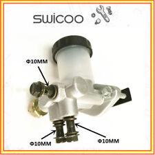 HYDRAULIC BRAKE MASTER CYLINDER universal DOUBLE 10mm hose BUGGY HOTROD PROJECT