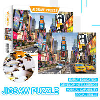 1000 Pieces Jigsaw Puzzle Square Assembling Puzzles Education Games Adults Kids