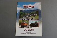 W970BEMO Train depliant Neuheiten 1996 6 pages 29,7*21 cm Deutch 20 jahre