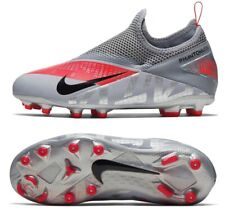 NIKE PHANTOM VISION 2 FG SOCCER CLEATS SHOES GREY CD4059-906 YOUTH SIZE 4.5