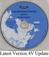 05 06 07 Ford Escape Hybrid Navigation Map Cover VT ME NH MA RI CT Partial NY NJ