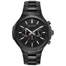 Bulova 98A189 Men's Chronograph Black Quartz Watch