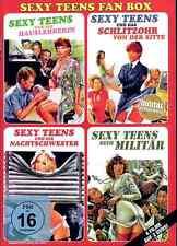 Sexy Teens Fan Box | Erotik | Komödie | 4 Filme | 2 DVDs [FSK16] DVD