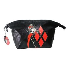 Official DC Originals Harley Quinn Retro Wash Toiletries Travel Bag - Comic Gift