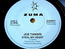 "JOE TANSIN - STEAL MY HEART  7"" VINYL"