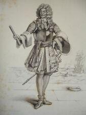 SIÈCLE DE LOUIS XIV / GRAVURE 1840 / DUQUESNE