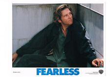 FEARLESS JEFF BRIDGES PORTRAIT 11X14 ORIGINAL LOBBY CARD MINT