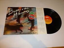 BOBBY & THE MIDNITES - Where The Beat Meets The Strut - 1984 Dutch 10-track LP