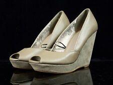 trendige H&M Damen Absatzschuhe Gr. 38/23 cm Wedges Keilabsatz 10,5 cm Schuhe