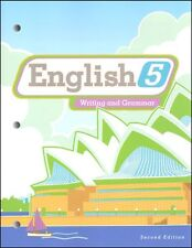 BJU Press - English 5 Student Worktext (2nd ed.) (Copyright Update) 273722