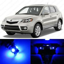 10 x Blue LED Interior Lights Package For 2007 - 2011 Acura RDX + PRY TOOL