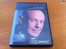 Stephen Covey The 8th Habit  From Effectiveness To Greatness - DVD & CD PACKAGE!